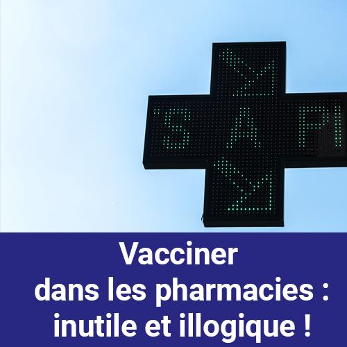 CP Vacciner dans les pharmacies accueil