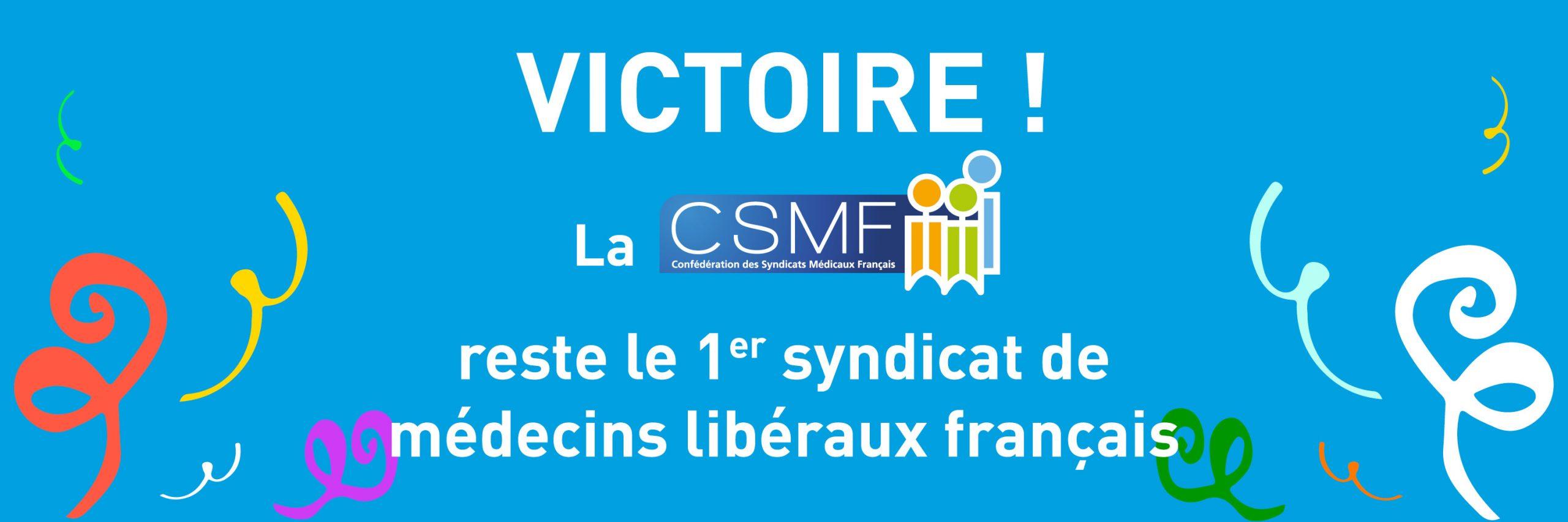 CSMF motion design victoire URPS - bandeau 1500x500