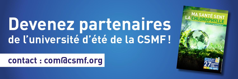 CSMF UE27 bandeau partenariat